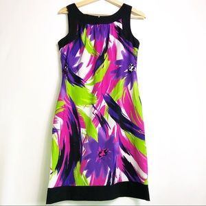 Alyx Limited Floral Sleeveless Shift Dress 8